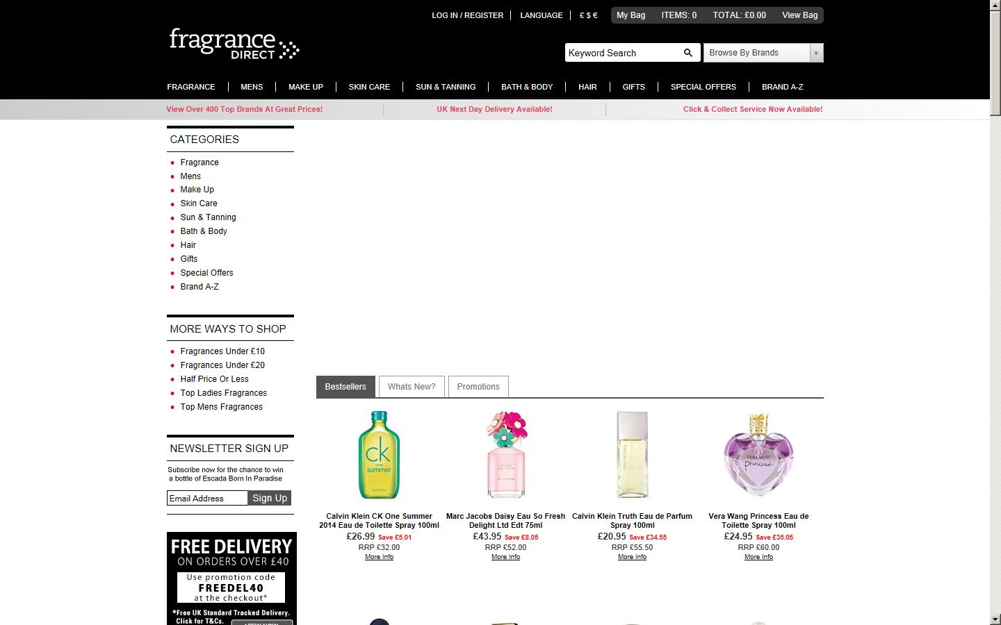 www fragrancedirect co uk reviews
