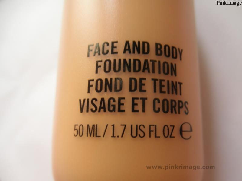 mac face and body foundation c2 review