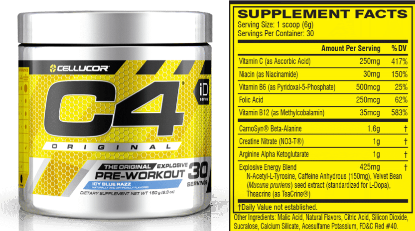cellucor c4 reviews side effects