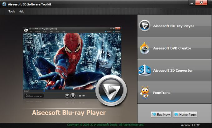 aiseesoft blu ray player review