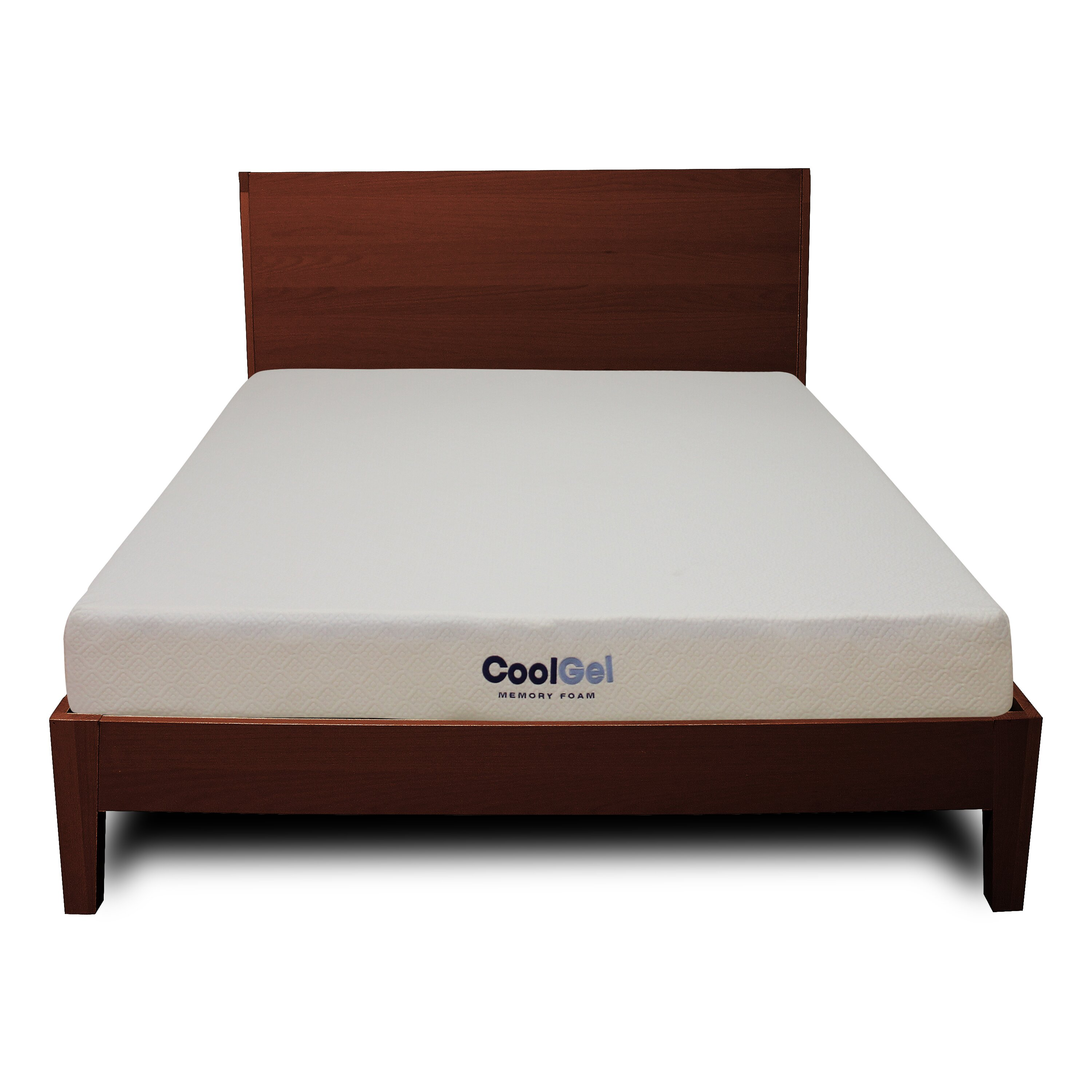 classic brands memory foam mattress reviews