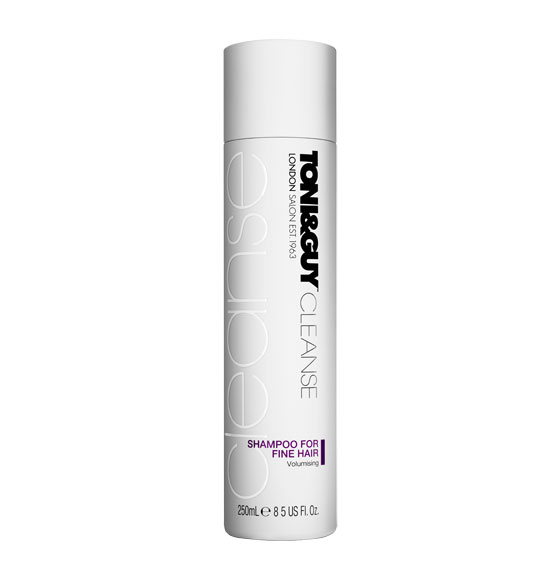 toni and guy shampoo for fine hair review