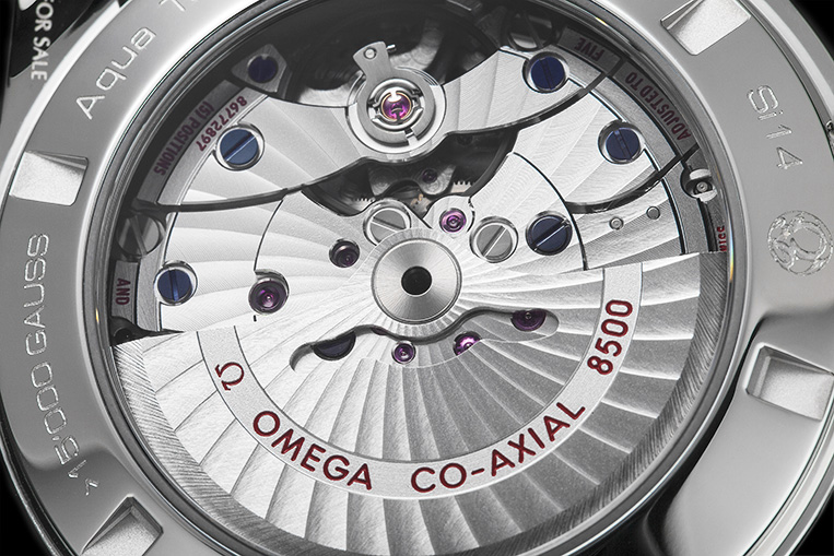 omega co axial 8500 movement review