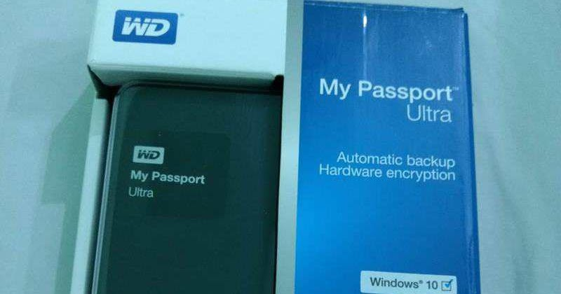 wd my passport ultra review 2017