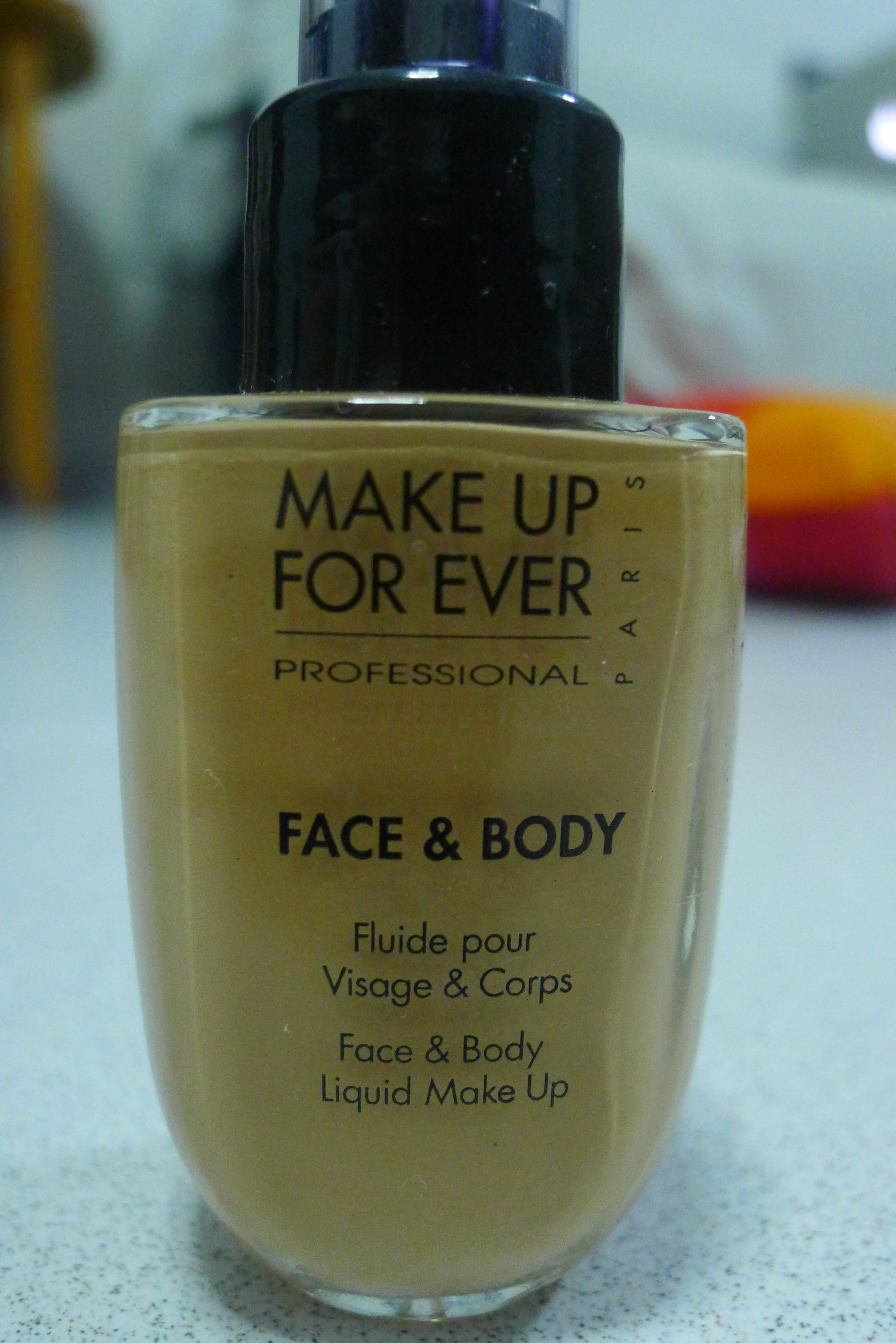 mufe face and body foundation review