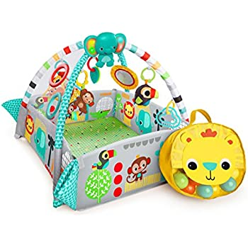 bright starts spots stripes play gym review