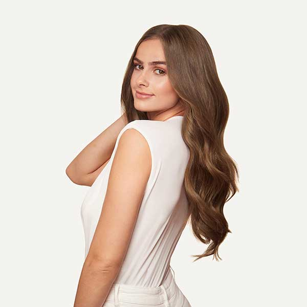 luxy hair extensions chestnut brown review