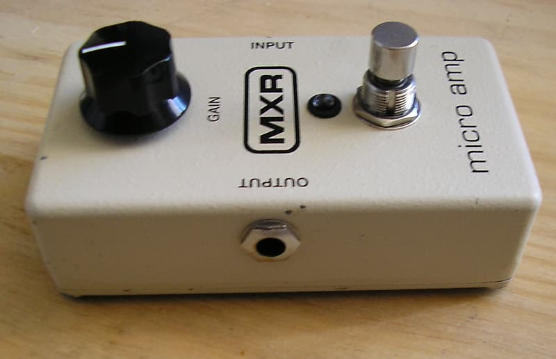 mxr micro amp plus review