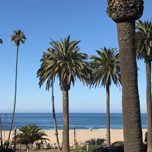 ocean view hotel santa monica reviews