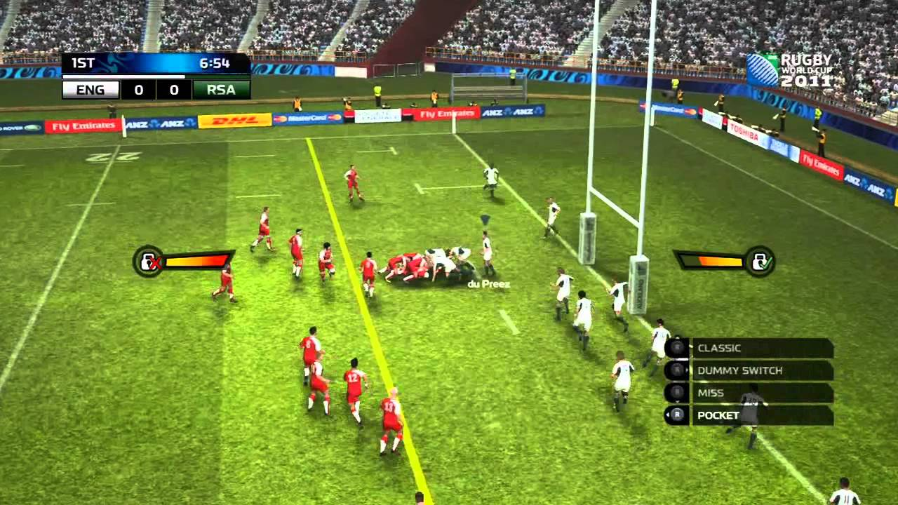 rugby world cup 2011 game review