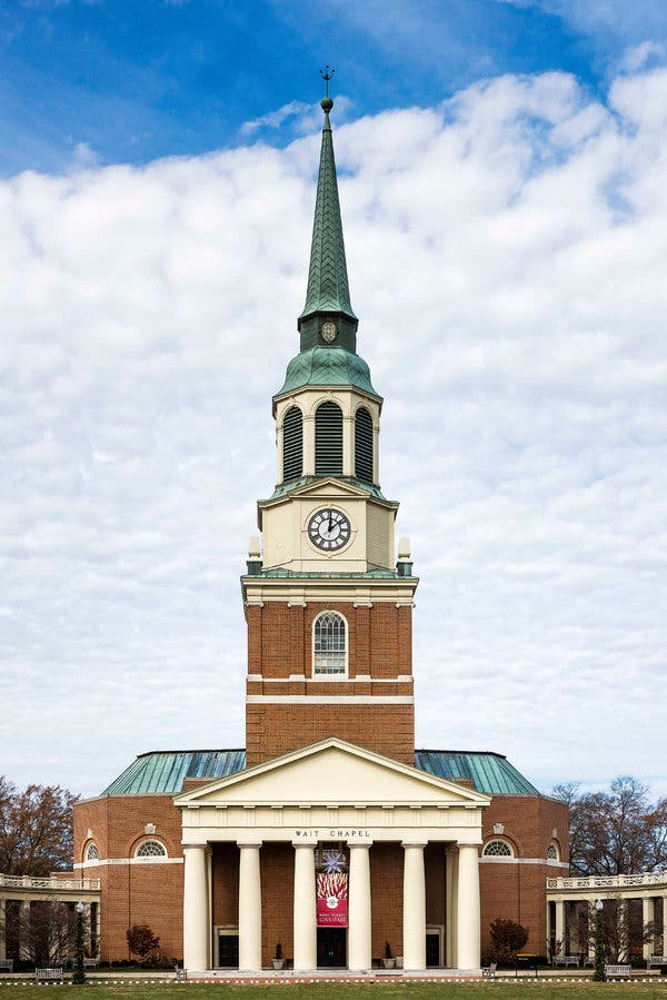 wake forest university student reviews